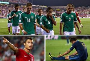 México, Portugal y Francia ven peligrar su presencia en el Mundial.