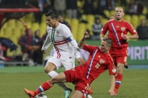 Rusia y Portugal se juegan el liderato del grupo F
