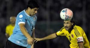 Imagen del Uruguay-Colombia