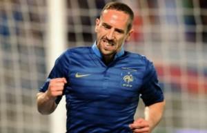 Frank Ribery.