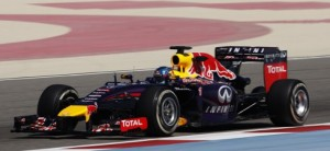 Imagen del coche de Red Bull. FOTO: elcomercio.pe