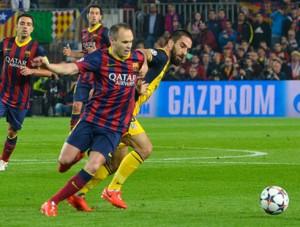 Imagen de la reciente eliminatoria entre Atlético y Barcelona. FOTO:flickr.com. FOTO:flickr.com