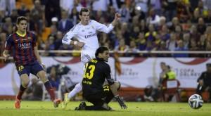 Momento en el que Bale marca el definitivo 2-1.