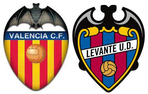 Todos los partidos oficiales entre Valencia CF y Levante UD