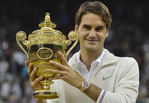 Nadie ha ganado más torneos de Gran Slam que Federer.