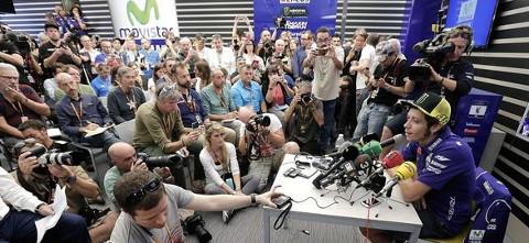 El GP de Valencia batió el récord de medios acreditados.