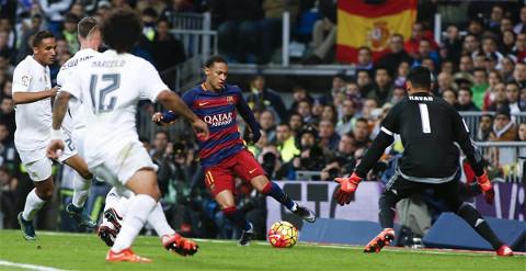 Imagen del último Real Madrid-Barcelona.