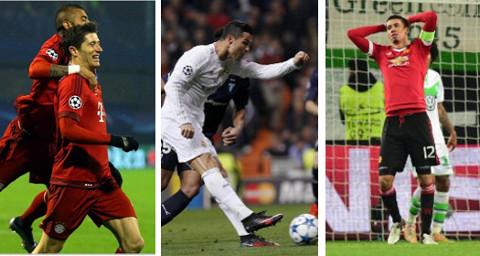 Bayern Munich, Real Madrid y Manchester United, protagonistas de la 1ª fase.