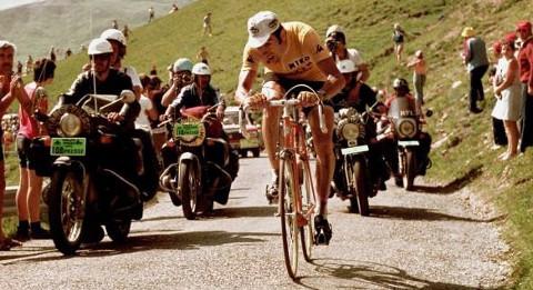 Eddy Merckx, en un Tour de Francia. FOTO:vavel.com
