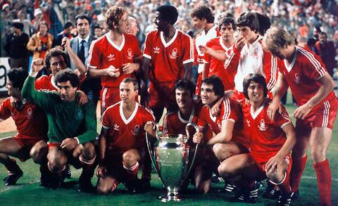 El Notthingham Forest ganó la Copa de Europa en 1979 y 1980.