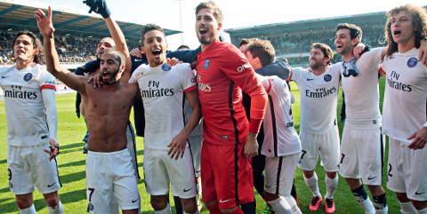 El PSG ha ganado la Liga dos meses antes de su finalización.