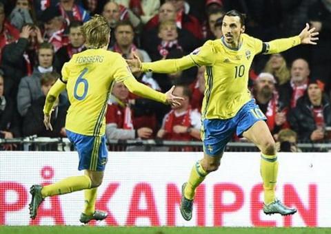 Ibrahimovic es el capitán y la estrella de Suecia.