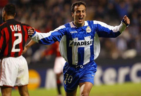 Fran estuvo 18 años en el Deportivo.