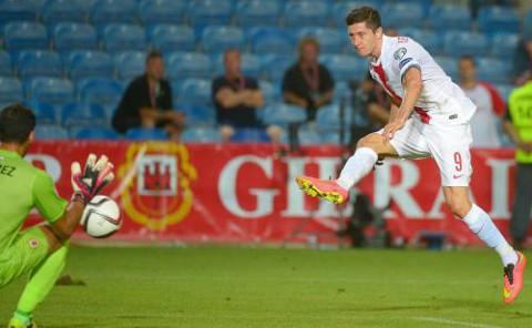 Lewandowski (Polonia), será una de las estrellas de la Eurocopa.