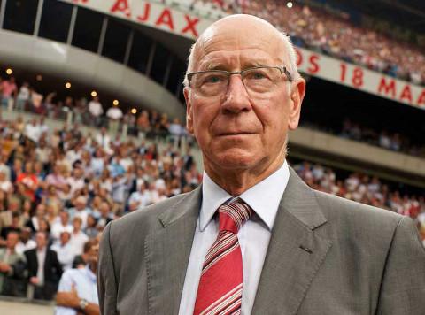 Sir Bobby Charlton, en una imagen reciente.