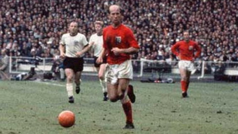 Momento de la final del Mundial 1966.
