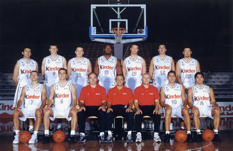 Plantilla del Kinder Bolonia 2000/2001