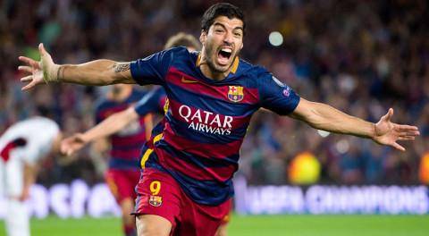 Luis Suárez fue el máximo goleador de la liga 2015/2016