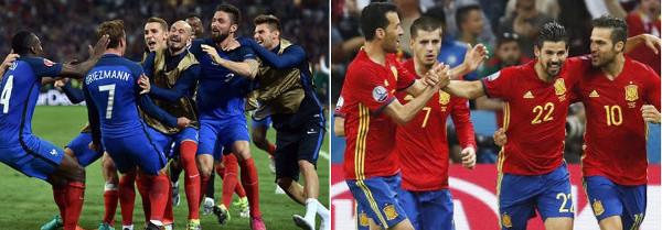 Francia y España han ganado los dos partidos que han disputado.