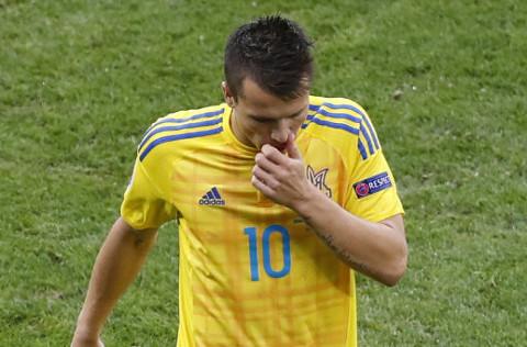 Konoplyanka, reflejo de la pobre imagen de Ucrania en la Eurocopa.