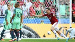 La UEFA eligió como mejor gol el de Zoltan Gera (Hungría) a Portugal.