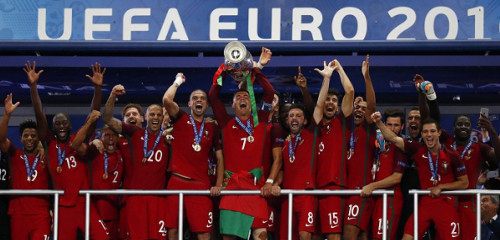 Portugal, un campeón nuevo y atípico de la Eurocopa