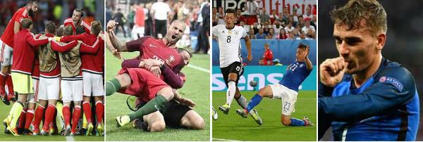 Qué recordaremos de los cuartos de final de la Eurocopa 2016
