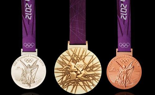 Las medallas olímpicas de Londres 2012