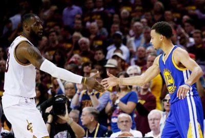 Lebron James y Stephen Curry, grandes protagonistas de la última temporada de la NBA.