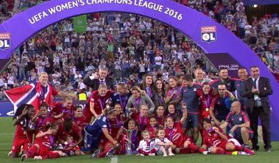 El Olympique de Lyon es el actual campeón de la Liga de Campeones femenina