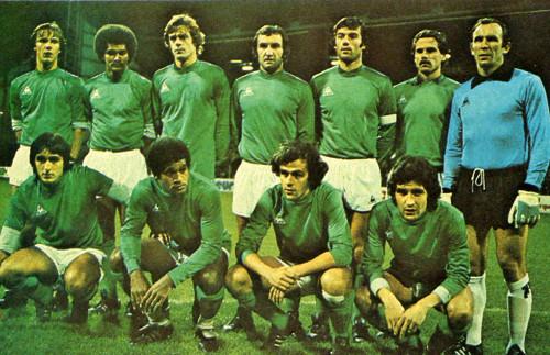 El St. Étienne fue el mejor equipo de Francia hasta los años 80.