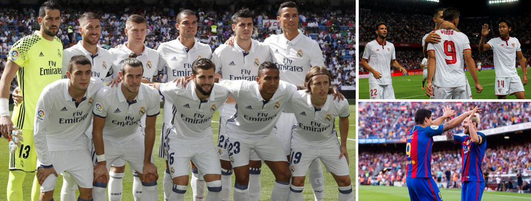 Primera vuelta de la Liga Santander 2016-2017