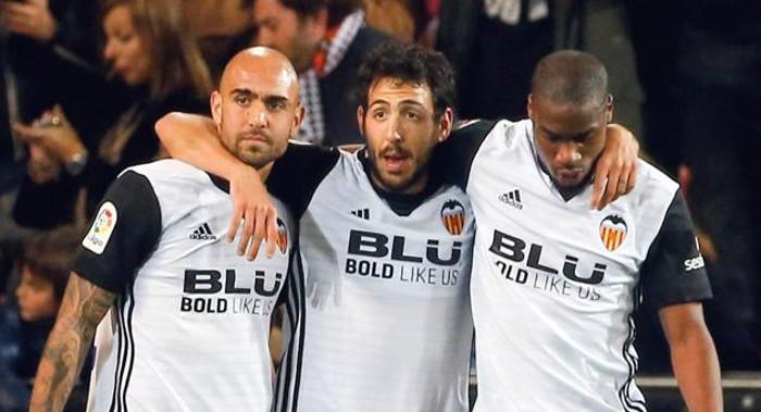 Zaza, Parejo y Kondogbia. FOTO: EFE