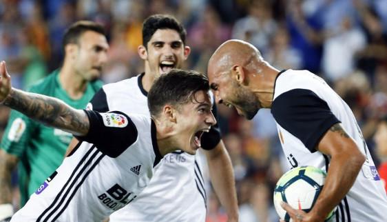 El Valencia fue el equipo que más mejoró respecto a la temporada 16/17.