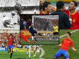 Momentos destacados de España en la Copa del Mundo de fútbol.