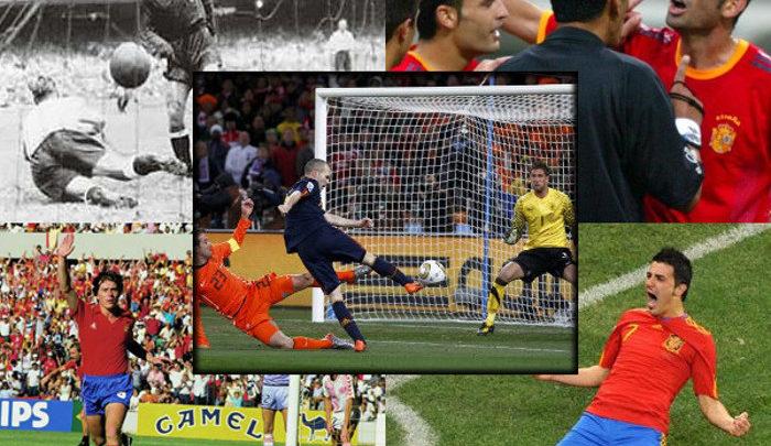 Los protagonistas y los números de España en los Mundiales