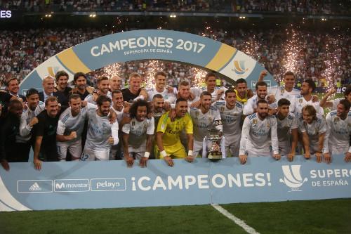 El Real Madrid ganó la Supercopa de España en el año 2017.