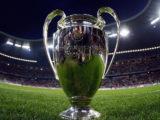 Imagen de la copa que se entrega al ganador de la Liga de Campeones.