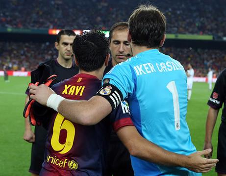 Xavi y Casillas son los españoles que más partidos han jugado en Champions.