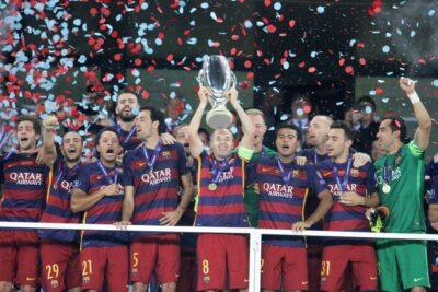 Barcelona (en la imagen) y Milan, son los equipos con más títulos